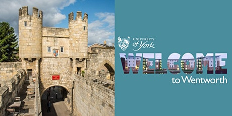 Wentworth In Town: Explore the historic York walls (History Walk) tickets