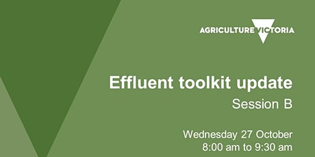 Effluent toolkit session B - Review homework, toolkit discussion tickets