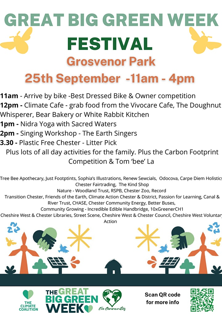 Cheshire West & Chester - The Great Big Green Week and Festival image
