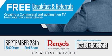 Free Breakfast & Referrals By Spectrum Reach tickets