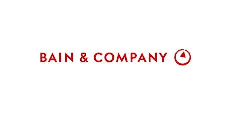 VI Jornadas de Consultoría - Bain & Company boletos