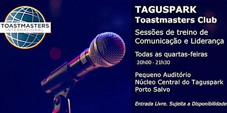 Uma viagem pela comunicação e liderança - Taguspark Toastmasters Club tickets