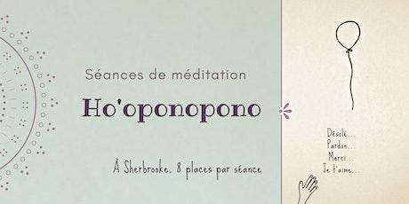 Séance de méditation Ho'oponopono billets