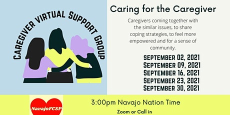 Virtual Caregiver Support Group - September tickets