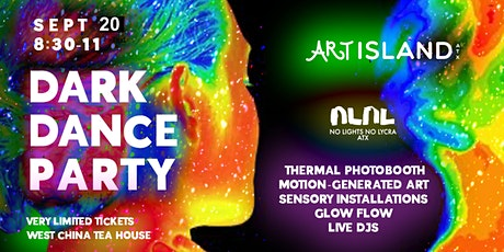 Art Island x No Lights No Lycra: Dance and Art Party in the Dark tickets