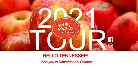 The Apple Truck Tour Stop-Greeneville, TN   Sept. 24, 2021 tickets
