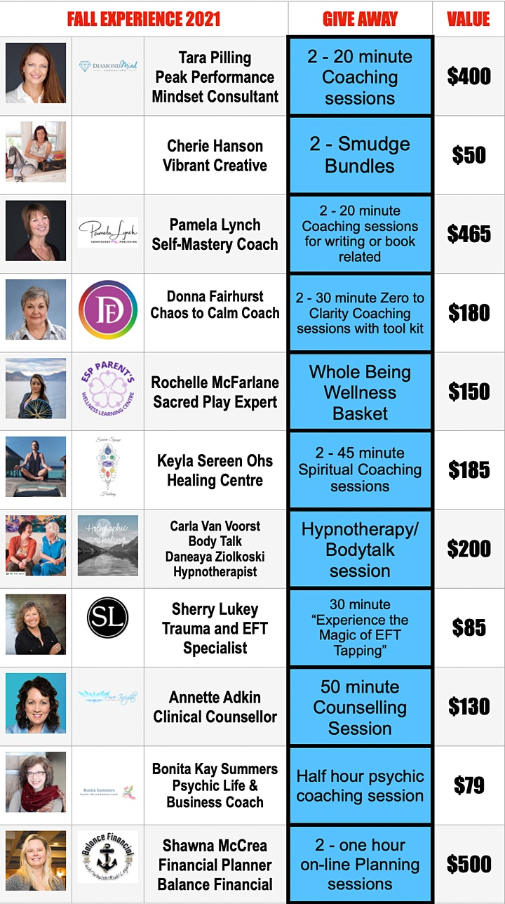 A Well-Being EXPERIENCE 2021 - FALL Edition - Sept 24 & Oct 1 image