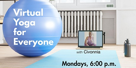Virtual Yoga for Everyone with Civonnia tickets