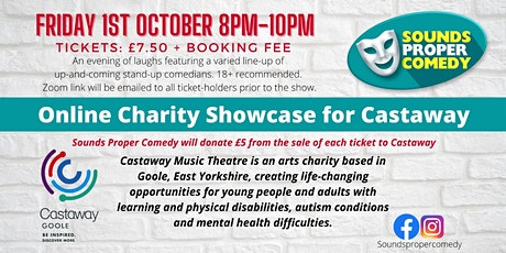 Sounds Proper Comedy Showcase in aid of Castaway tickets