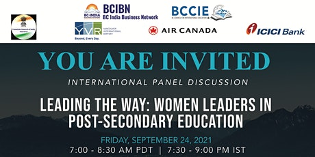 Leading the Way - Women Leaders in Post-Secondary Education (Part II) tickets