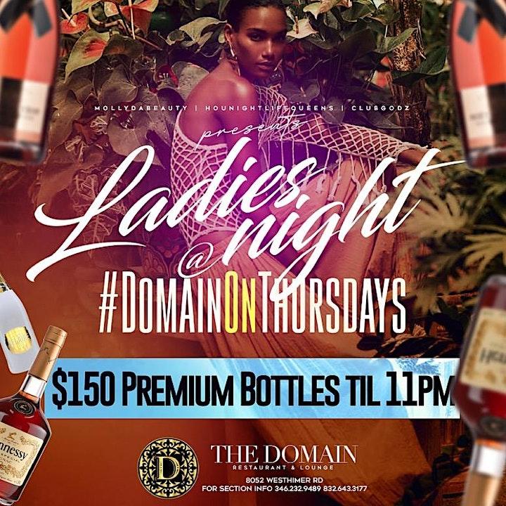 Ladies Night At Domain image