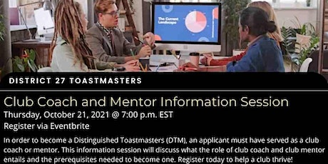 D27: Excellence In Club Coaching & Mentoring Session - Club Coaching 101 entradas