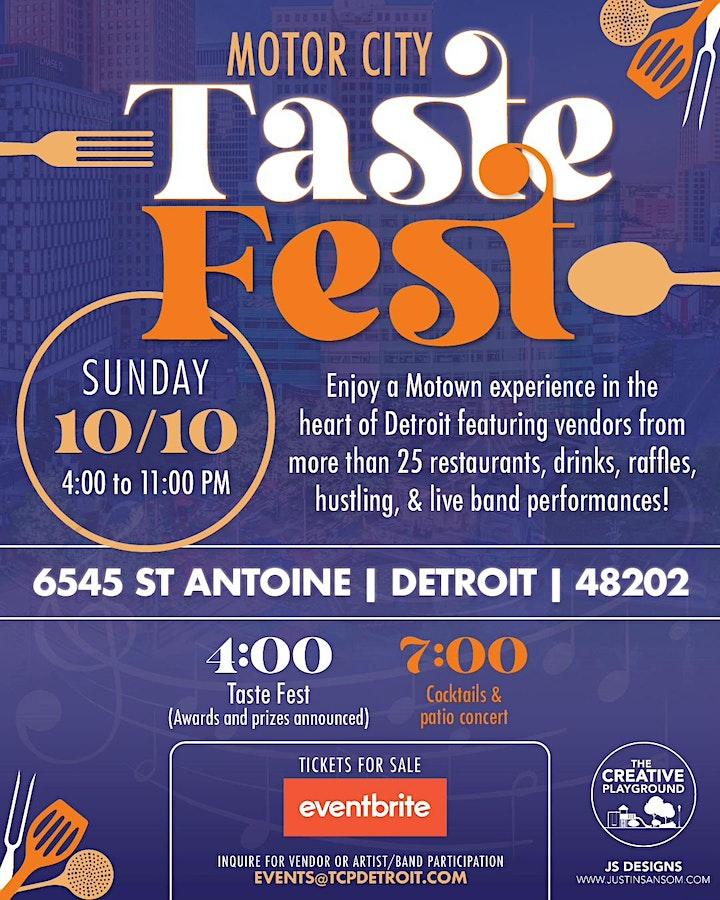 Motown taste Fest image