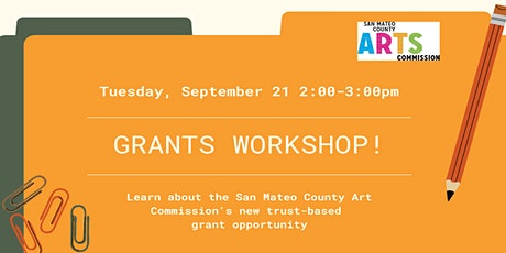 2021 Grants Workshop tickets