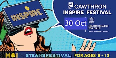 Cawthron INSPIRE Festival Saturday tickets