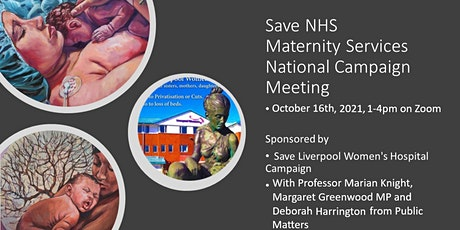 Save NHS Maternity Services- National Campaign Meeting tickets