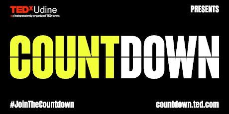 TEDxUdine Countdown biglietti
