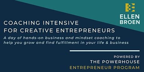 Coaching  Intensive for Entrepreneurs tickets