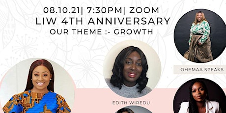 LIW 4TH ANNIVERSARY: tickets