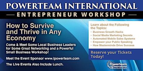 Entrepreneur  Luncheon & Workshop- Orange County California tickets