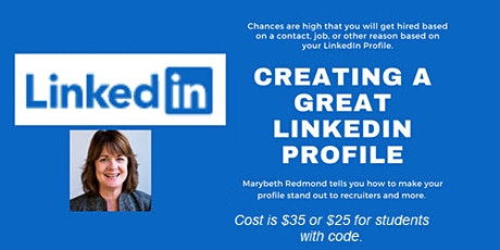 Learning to Use LinkedIn to Attract Recruiters tickets