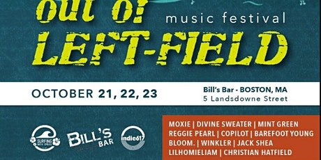 Out-of-Left Field Music Festival: Friday Night tickets