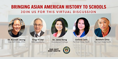 9/28 Bringing Asian American History to Schools - (FREE) tickets