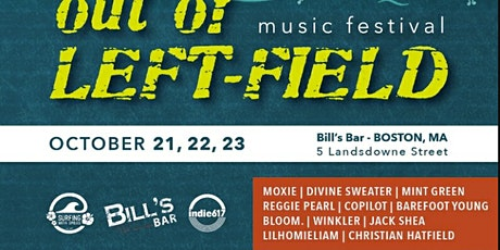 Out-of-Left Field Music Festival: Saturday Night tickets