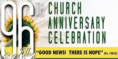 Ninety-sixth Church Anniversary Celebration tickets