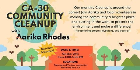 CA-30 Community Cleanup tickets