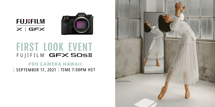 Fujifilm GFX 50s II First Look Event image