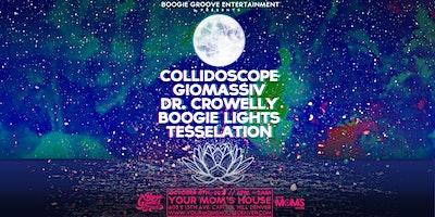 Collidoscope w/ Giomassiv | Dr. Crowelly | Boogie Lights | Tesselation