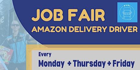 JOB FAIR Amazon Delivery Driver tickets