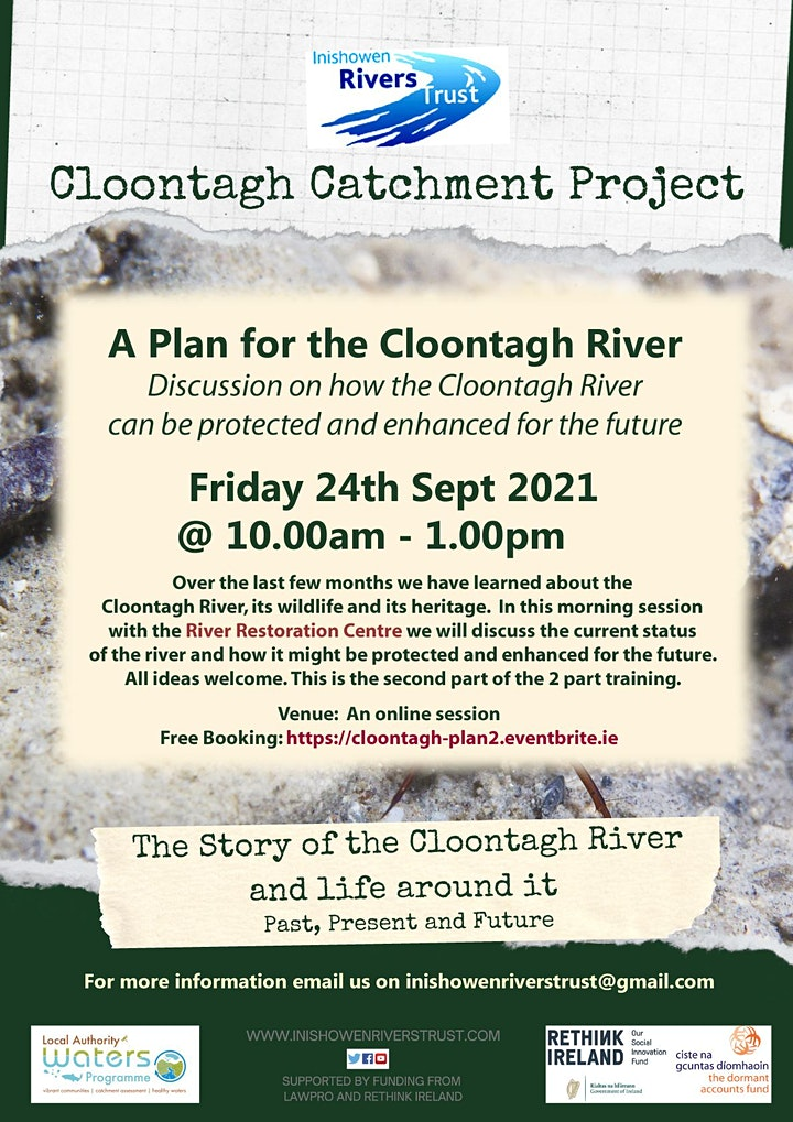 A Plan for the Cloontagh River - Part 2 image