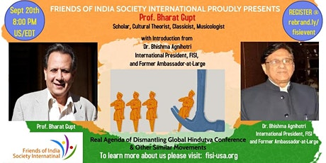 Real Agenda of Dismantling Global Hindutva Conference & Other Movements tickets