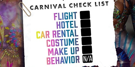 Miami Carnival or Jouvert Roundtrip 2021  (BUS RIDE ONLY NO ENTRY) tickets