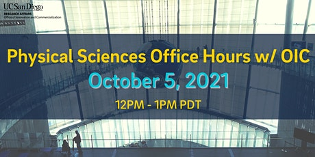 Physical Sciences Office Hours w/ OIC tickets