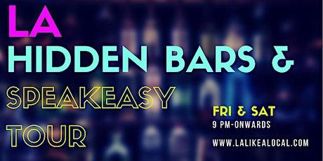 LA Hidden Bars & Speakeasy Tour tickets