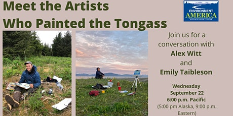 Meet the Artists who painted the Tongass tickets