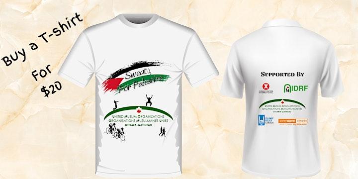 Sweat for Palestine image