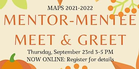 Mentor-Mentee Meet and Greet tickets