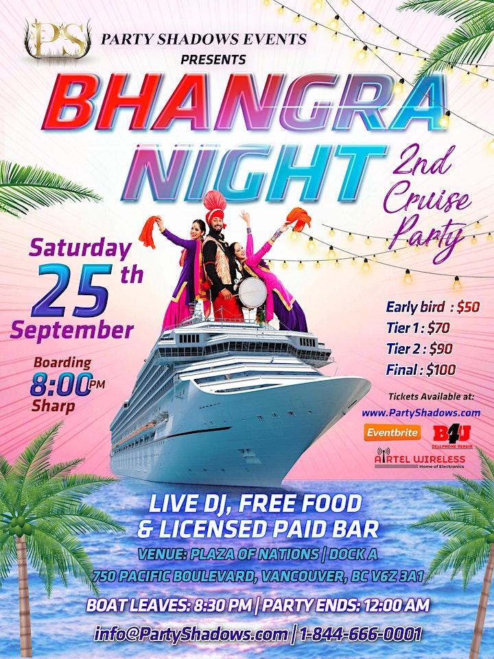 Bhangra Night In Cruise | Punjabi Boat Party 2 With Live DJ & Boliyan image