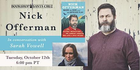 Bookshop Santa Cruz Presents: Nick Offerman + Sarah Vowell in conversation tickets
