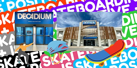 What about skateboarding? Try it for the first time! tickets
