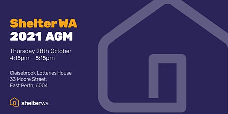 Shelter WA 2021 AGM tickets