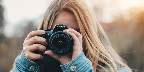 School Holiday Photography Workshop Online tickets
