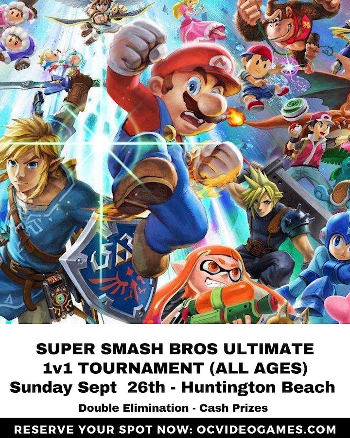 Super Smash Bros Ultimate Video Game Tournament - 1v1 - Huntington Beach image