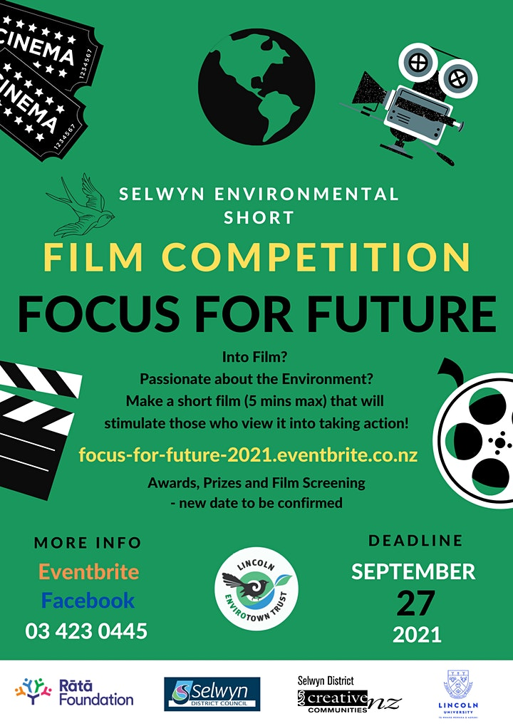 Focus For Future - Selwyn Environmental Short Film Competition image