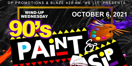 90's Paint & Sip/ Live Band Nita Fruit (froo-ee) tickets