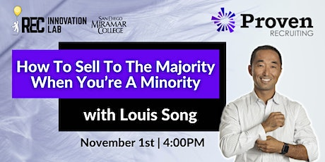 How to Sell to the Majority as a Minority ft. Proven Recruiting! tickets
